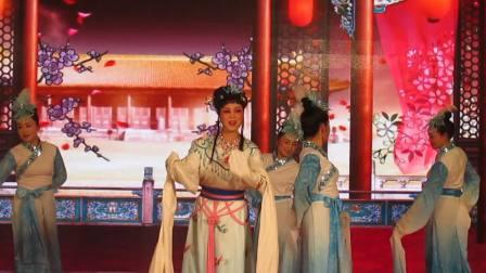 越剧【琴心】表演者:曾真。伴舞:丽芝、徐瑛、美芬、厉芳、红仙、文钧