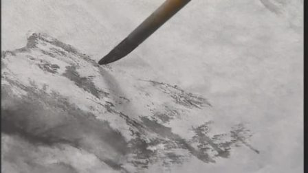 20182425732450 国画荷花的入门画法 工笔画猫丝毛技法视频教程