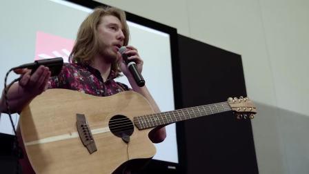 NAMM 2018:Grayson Erhard演示iRig Acoustic Stage