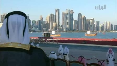 卡塔尔2017年国庆阅兵(中式正步)