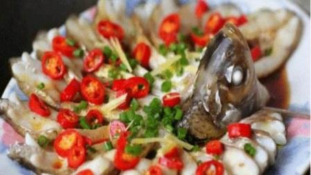 看起来漂亮吃起来美味孔雀开屏武昌鱼菜肴图片
