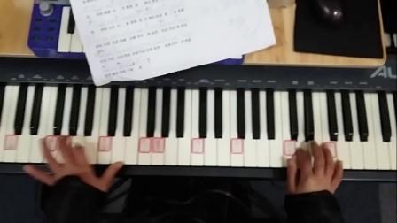 宣教的中国 朱舒晨弹钢琴