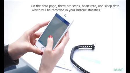 埃微i6HR-C彩屏手环【英文版】