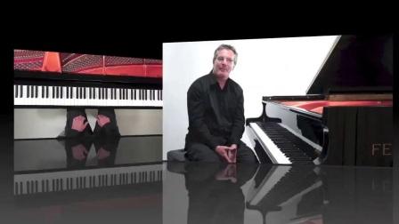 Chopin Prelude 3 - Harmonic Piano Pedal Demonstration Demonstration