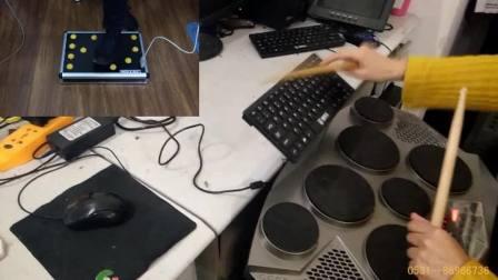 西游记丁悦用声效盘+打击板电子鼓爵士鼓数码鼓效果演示