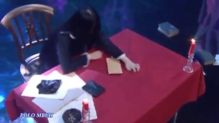 瑞安娜在另一节目上的表演 失恋的幻术师