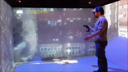 用Bentley软件公司Acute3D对城市环境建模并在其中漫游!——TechViz CAVE