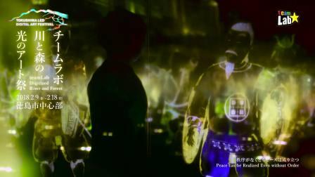 TOKUSHIMA LED DIGITAL ART FESTIVAL  teamLab: Digitized River and Forest