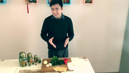 """大师傅比赛 - """"套娃""""肉饼(北京外国语大学)"""