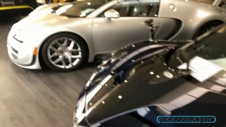 Des millions d'€ d'Hypercars dans ce garage à Newport Beach!