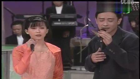 孟庭苇 施文彬-《请跟我来》(1996年台湾华视《今宵花月夜》现场版)