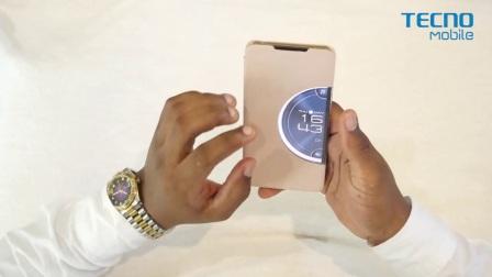 传音手机TECNO Camon CX智能手机壳使用方法
