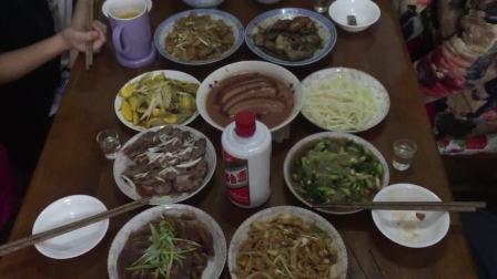 全国各地的年夜饭 首先看看洛阳人家大年三十晚上吃什么