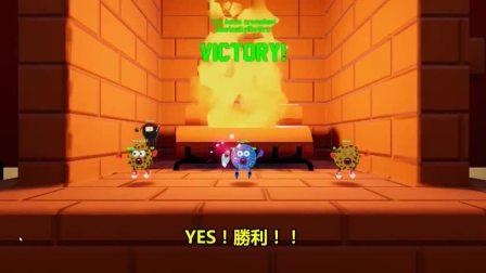 vanoss中文 :新遊戲《曲奇VS聖誕老人》玩具大戰與巧克力碎海綿寶寶!(火箭龜翻譯)