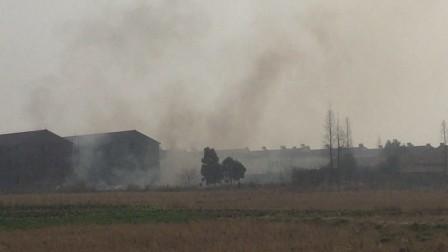 湖北省荆州市沙市区锣厂焚烧垃圾 吉杆