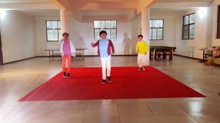 龙子东升舞蹈教学版2018春晚《最好的舞台》张艺兴黄渤陈伟霆