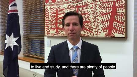 欢迎来到澳大利亚留学 -澳大利亚教育与培训部长致辞