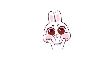 棉花兔兔_表情包第一弹