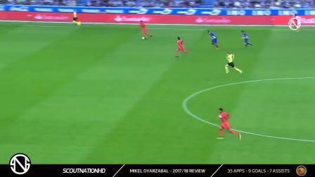 MIKEL OYARZABAL - Genius Skills, Passes, Goals & Assists - 2017_2018 (HD)