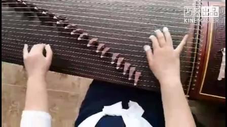 古筝手法:高山流水 (北京田老师弹奏演示,天天录像,淡雅如玉制作) 2018-02-19