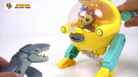 海底小纵队玩具视频 海底小纵队动画片