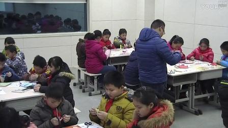 小学劳动技术豫科版三年级《剪装饰花》教学视频,申建磊
