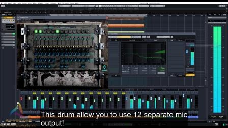 【鼓音源演示】Dieswitch Drums 演示第三波