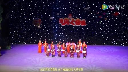 幼儿舞蹈视频大全最新舞蹈2018《报花灯》幼儿园舞蹈视频