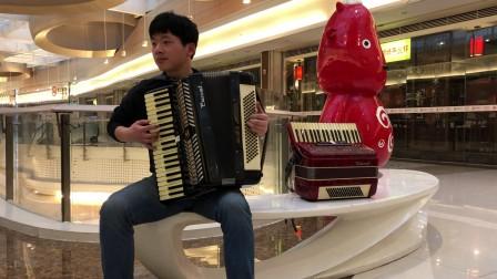 《天使爱美丽》手风琴独奏 胡卡拉