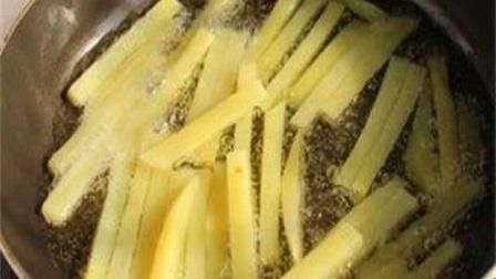 自制薯条,干净卫生,做法也简单