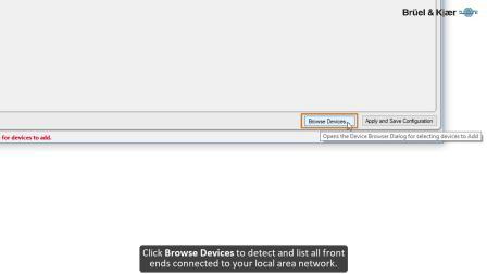 【BK声学与振动】如何使用BK Connect前端设置程序