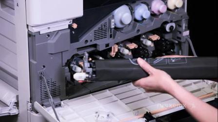 【富士施乐中国】 如何安装或更换硒鼓盒 - ApeosPort-VI & DocuCentre-VI 机型