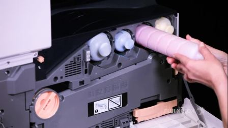 【富士施乐中国】 如何安装或更换墨粉筒 - ApeosPort-VI & DocuCentre-VI 机型