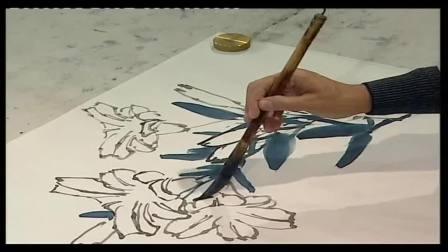 20182510054411 工笔画入门技法视频 萧朗花鸟画教程