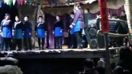 俾吊岑侗戏2018年正月初五晚上  吴奈上传