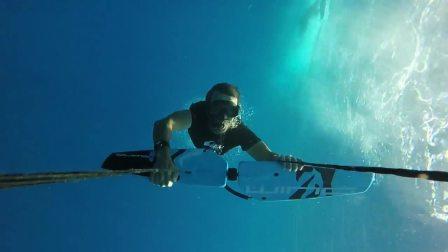 马达加斯加诺西贝岛海底滑翔飞行新玩法