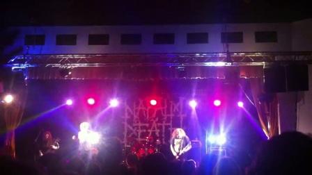 2018.02.18 英国 Napalm Death #1 @ Live in Pilsen