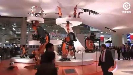 德国顶级工业机器人到底有多强悍, 看完这个视频让你见识一下