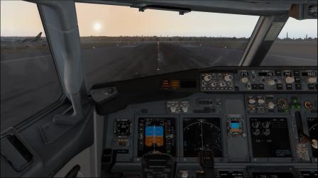 【X-plane11】 B738圣地亚哥机场一手动着陆