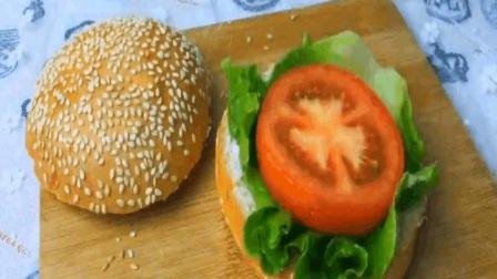 自制汉堡包不出门在家也能吃到洋快餐