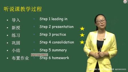 教师考试面试辅导课程初中英语试讲概述