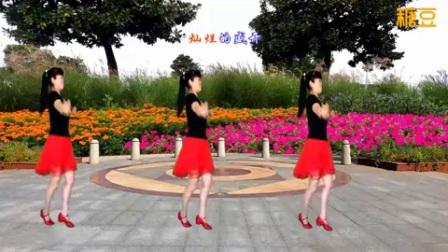 太湖一莲广场舞格桑花儿几时开