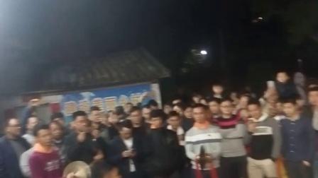 清远市龙塘郭屋村年初十闹灯2018