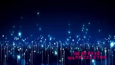我想有个家唯美梦幻抒情粒子歌曲舞蹈配乐成品LED大屏幕舞台背景视频素材