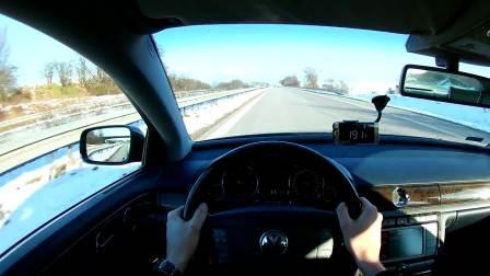 「汽车试驾」08款大众旗舰辉腾3.0TDI - 个人主视觉试驾