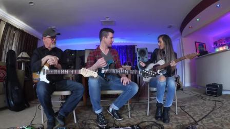 Lari Basilio & Tim Pierce & Pete Thorn Guitar Show 16