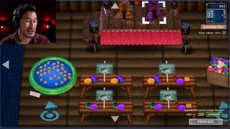 【基萌Markiplier】玩具熊的五夜后宫:披萨店模拟器 实况解说 Part2