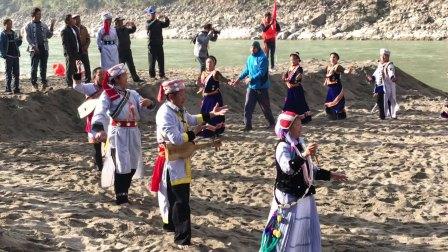 激流回旋怒江州福贡县傈僳族舞蹈