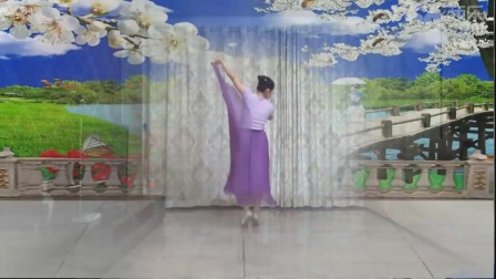廖弟广场舞向往拉萨茉莉广场舞花桥流水
