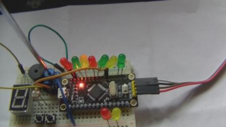玩转STM8S单片机基础版15-LED电量显示器